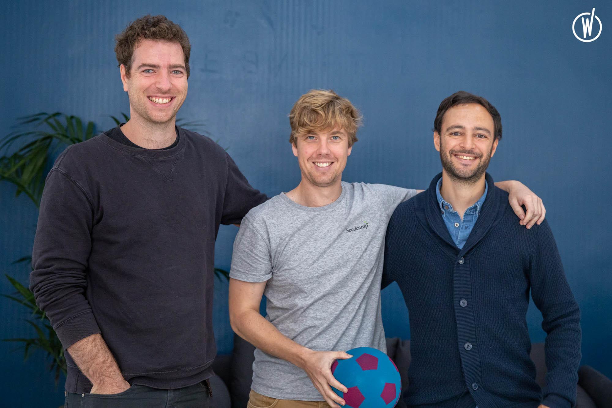 Founding team of Sorare