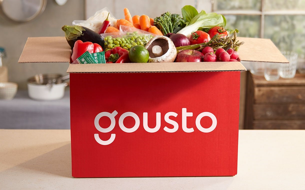 Gousto food basket