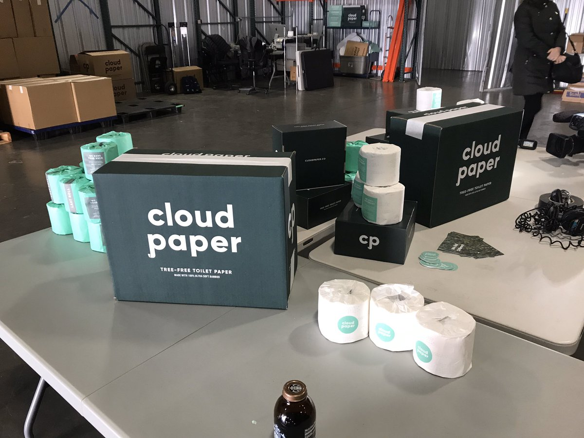 Cloud Paper Toilet Paper