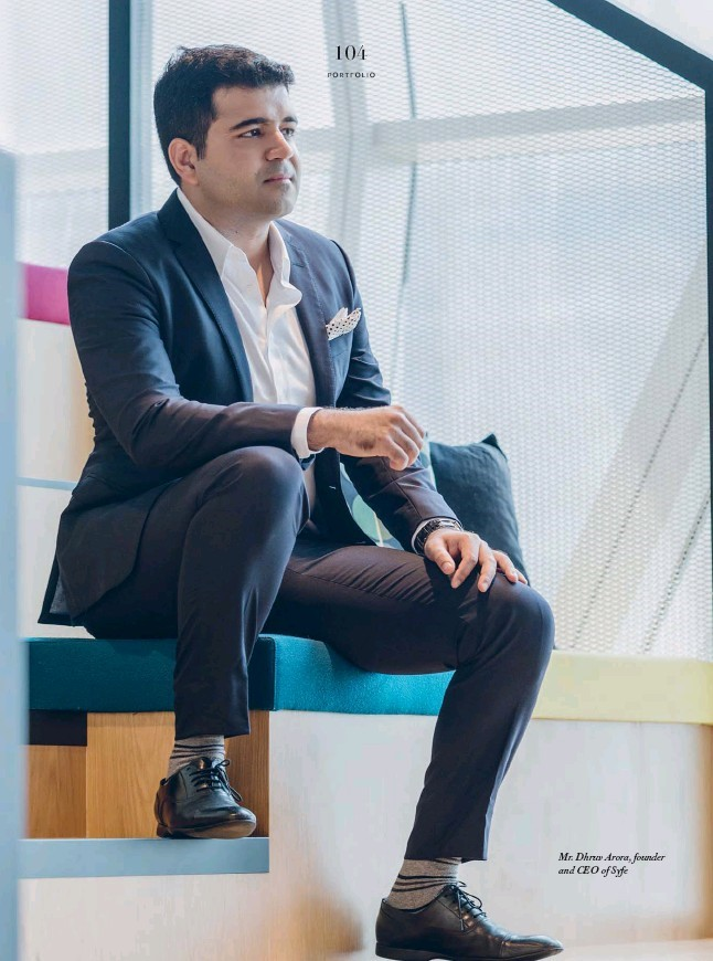 Dhruv Arora, Founder of Syfe