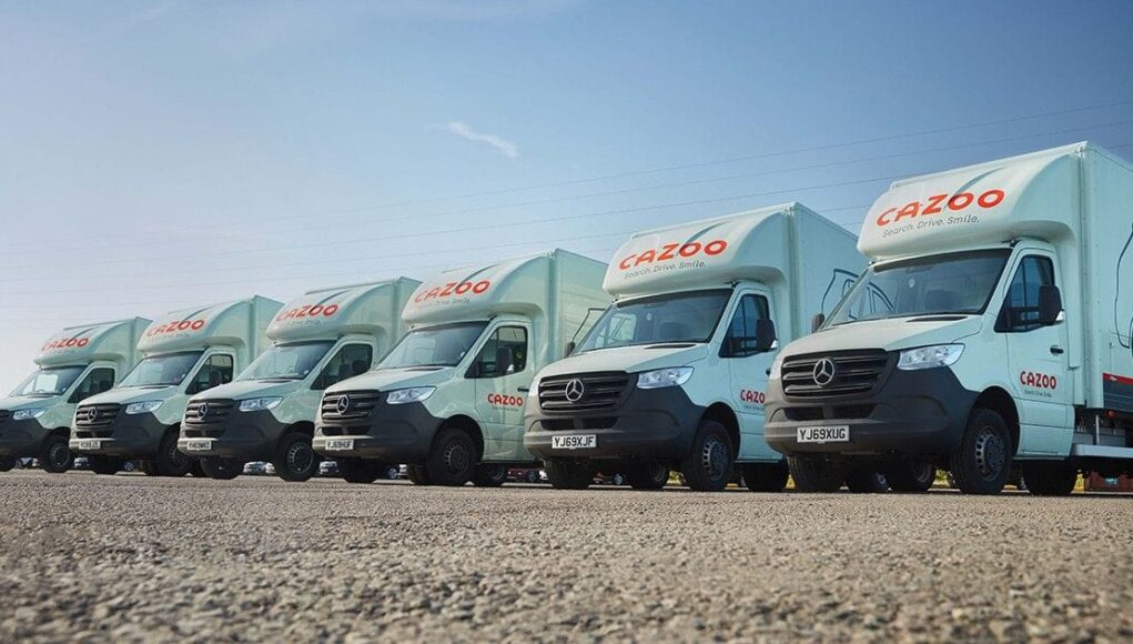 Cazoo raises €263 M in funding