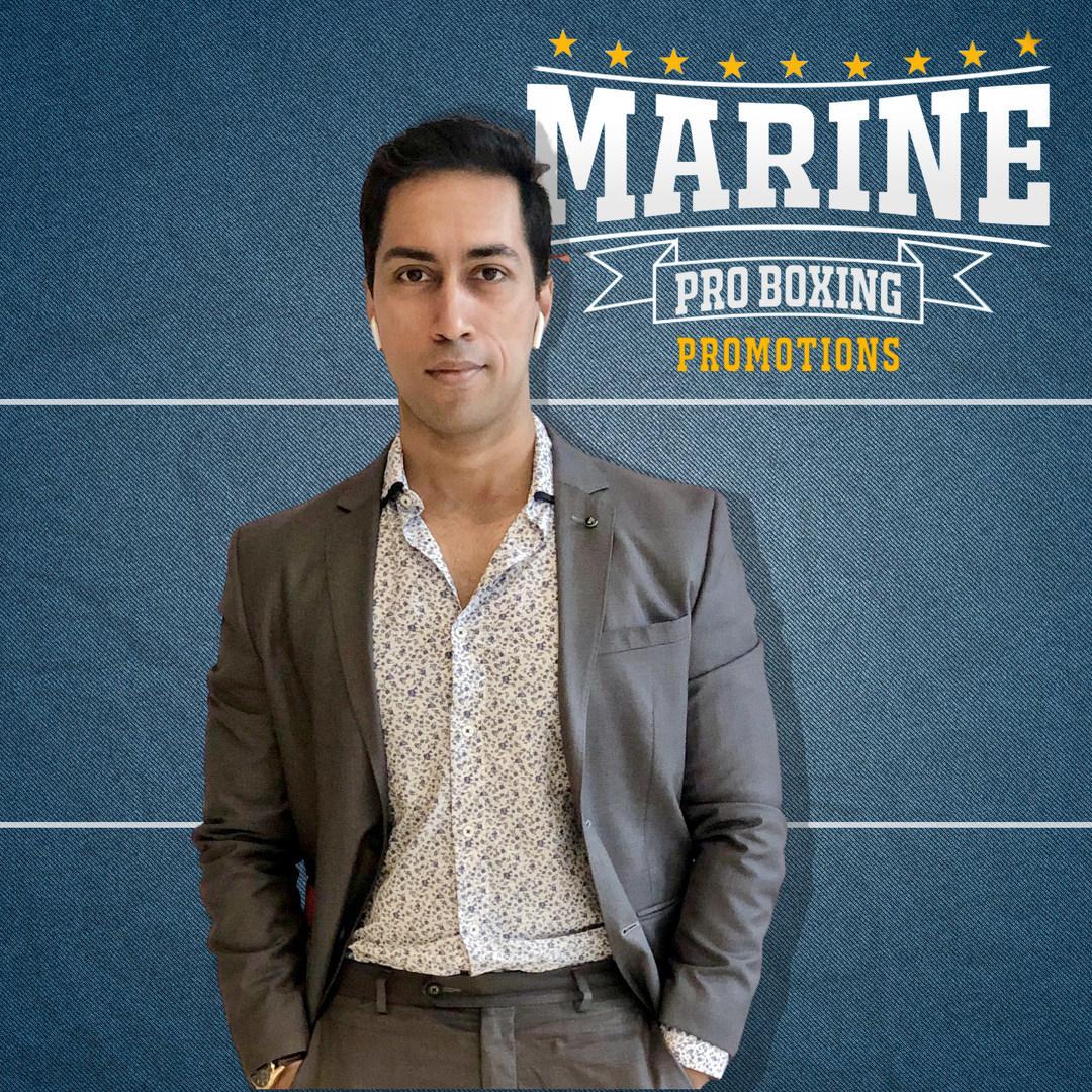 Devraj Das- Marine Pro Boxing Promotions