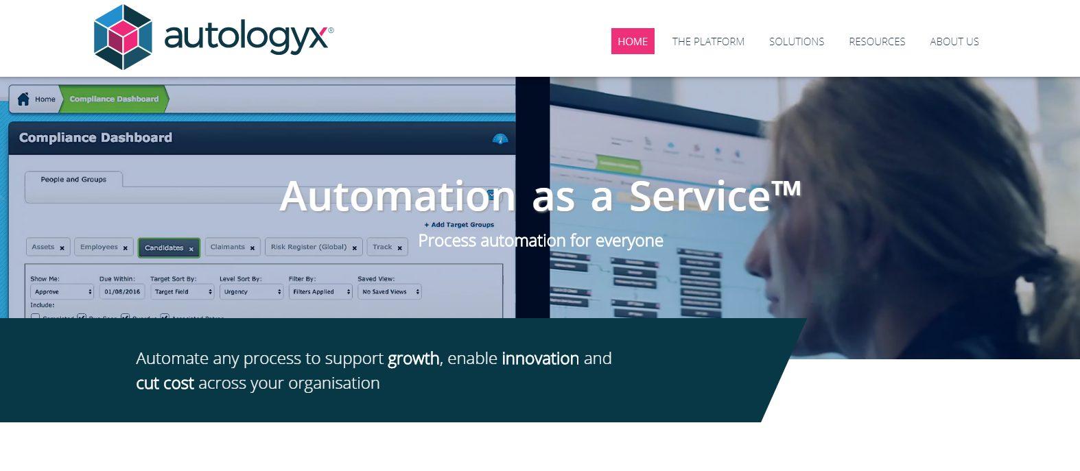 Autologyx website