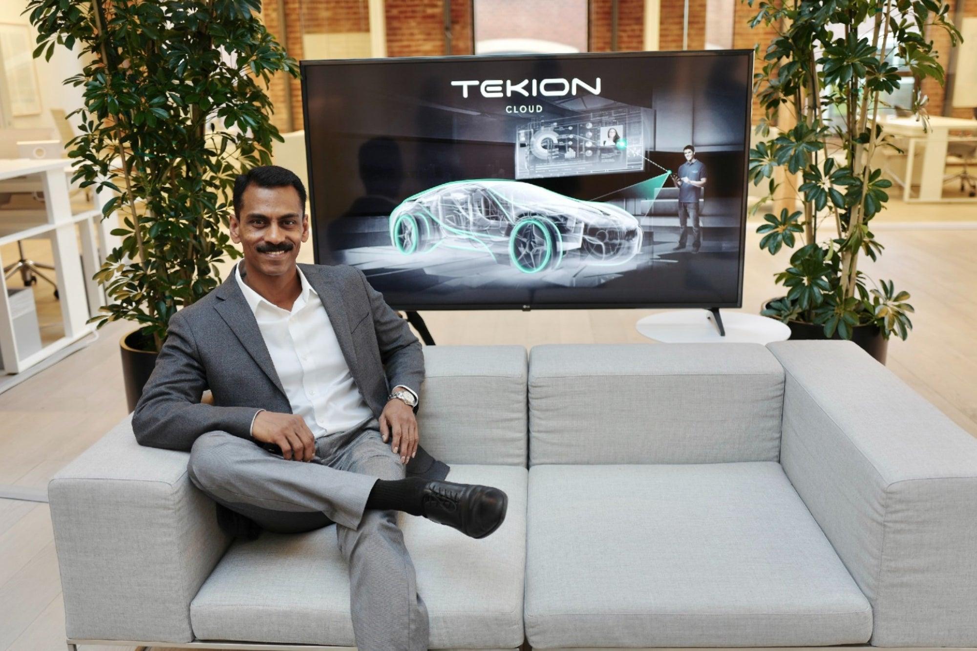 Jay Vijayan, CEO and Founder of Tekion