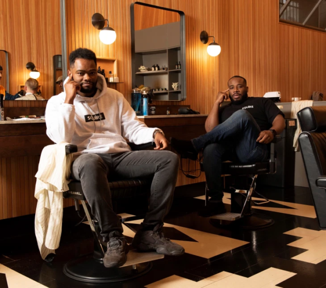 Squire Barbershop Management Startup