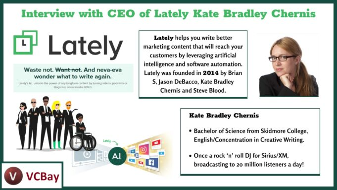 LatelyAI interview with Kate Bradley Chernis