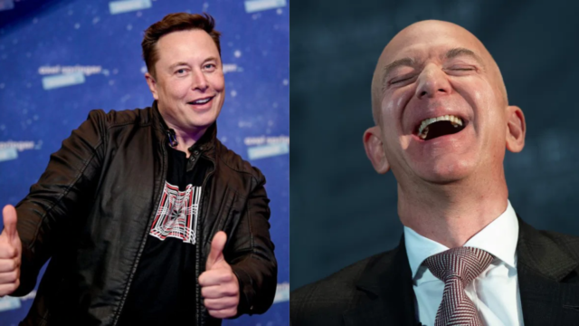 Musk and Bezos for the title of World's Richest Person