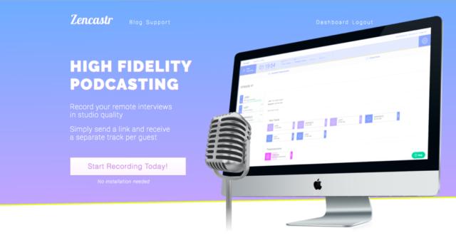 Podcasting Platform Zencastr