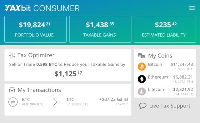 US-based startup TaxBit