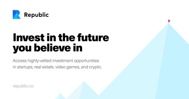NY-based investment platform Republic raises US$ 36M