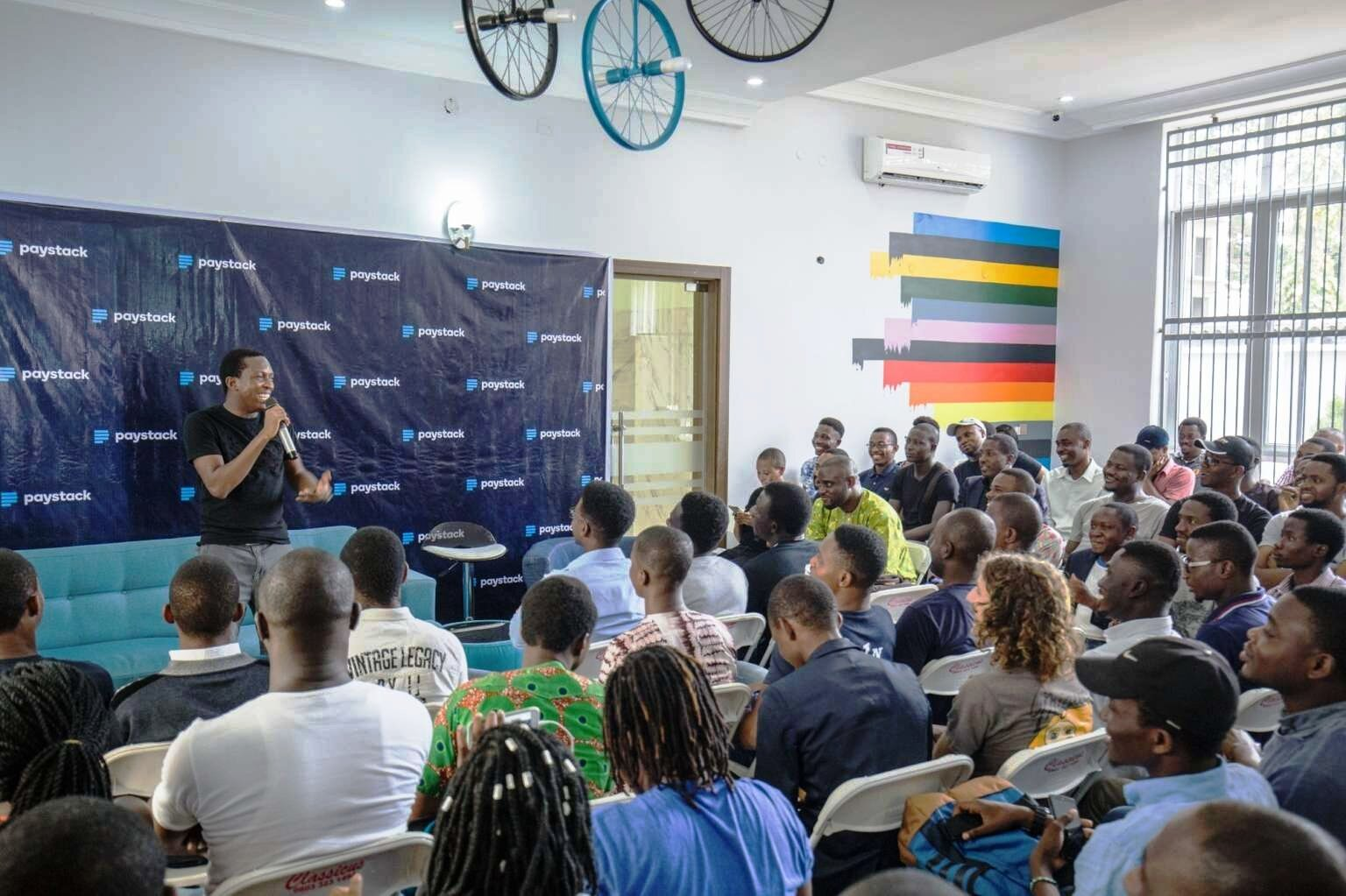 Fintech Company Paystack at first Y Combinator Lagos Meetup