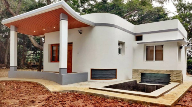 India's first 3D-printed house