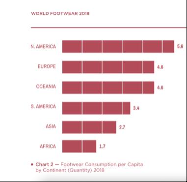 World Footwear Consumption