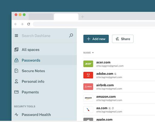 Single password access